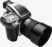 Hasselblad's limited edition H4D-40 Stainless Steel. Photo provided by Victor Hasselblad AB.