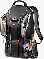 Hama Daytour 230 camera backpack. Photo provided by Hama GmbH & Co. KG.