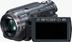 Side view of the HDC-HS700 digital camcorder. Photo provided by Panasonic Consumer Electronics Co.