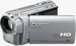 Panasonic's HDC-TM10 camcorder. Photo provided by Panasonic UK Ltd.