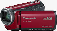 Panasonic's HDC-TM80 camcorder. Photo provided by Panasonic Consumer Electronics Co.