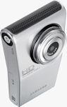 Samsung's HMX-U10 high-definition camcorder. Photo provided by Samsung Electronics Co. Ltd.