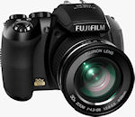 Fujifilm's FinePix HS10 digital camera. Photo provided by Fujifilm North America Corp.