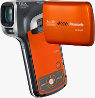 The Panasonic HX-WA10 Full-HD Camcorder. Photo provided by Panasonic Marketing Europe GmbH.