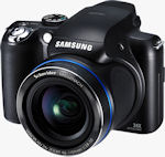 Samsung's HZ25W digital camera. Photo provided by Samsung Electronics America Inc.