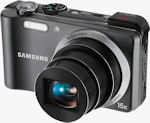 Samsung's HZ35W digital camera. Photo provided by Samsung Electronics America Inc.