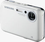 Samsung's i8 digital camera. Courtesy of Samsung, with modifications by Michael R. Tomkins.