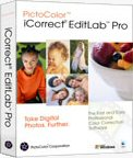 PictoColor's iCorrect EditLab Pro box. Courtesy of PictoColor, with modifications by Michael R. Tomkins.