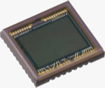 Sony's ICX681SQW image sensor. Photo provided by Sony Semiconductor.