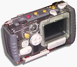 Ricoh's iMove system - the RDC-i700 camera in weatherproof housing. Copyright © 2001, Michael R. Tomkins. All rights reserved.
