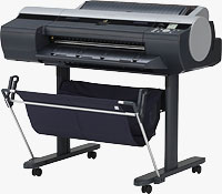 Canon's 24-inch imagePROGRAF iPF6300S large format printer. Photo provided by Canon USA Inc.