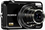 Fujifilm's FinePix JX250 digital camera. Photo provided by Fujifilm North America Corp.