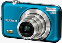 Fujifilm's FinePix JX280 digital camera. Photo provided by Fujifilm North America Corp.