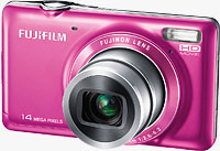 Fujifilm's FinePix JX370 digital camera. Photo provided by Fujifilm UK Ltd.