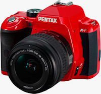 Pentax's K-r digital SLR. Photo provided by Pentax Imaging Co.