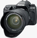 Pentax's K-7 single-lens reflex digital camera. Photo provided by Pentax Imaging Co.