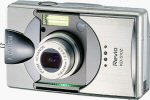 Konica's KD-510Z digital camera. Courtesy of Konica, with modifications by Michael R. Tomkins.