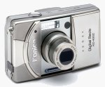 Konica's KD-400Z digital camera. Courtesy of Konica Photo Imaging Inc., with modifications by Michael R. Tomkins.