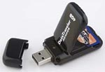 Kingston's DataTraveler USB flash reader/drive