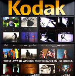 Kodak's Kodarama screen in Times Square. Courtesy of Kodak, with modifications by Michael R. Tomkins.