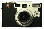Leica's Digilux 1 digital camera. Copyright © 2002, Michael R. Tomkins.  All rights reserved.