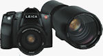 Leica's S2 digital SLR. Courtesy of Leica, with modifications by Michael R. Tomkins.