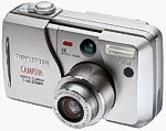 Olympus' Camedia C-50 ZOOM digital camera. Used by permission of LetsGoDigital.nl, with modifications by Michael R. Tomkins.
