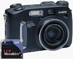Casio's QV-5700 digital camera. Used by permission of LetsGoDigital.nl, with modifications by Michael R. Tomkins.