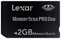 Lexar 4GB 60X Platinum CF card. Courtesy of Lexar, with modifications by Zig Weidelich.