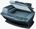 Lexmark's X6170 All-in-One. Courtesy of Lexmark, with modifications by Michael R. Tomkins.