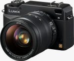 Panasonic's Lumix DMC-L1 digital camera. Courtesy of Panasonic, with modifications by Michael R. Tomkins.