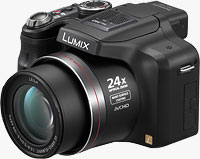 Panasonic's Lumix DMC-FZ47 digital camera. Photo provided by Panasonic Consumer Electronics Co.