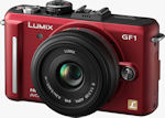 Panasonic Lumix DMC-GF1 digital camera.