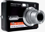 Praktica's Luxmedia 10-X3 digital camera. Courtesy of Praktica, with modifications by Michael R. Tomkins.