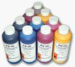 Lyson's inks for the Gretag Arizona inkjet.  Courtesy of Inkzone.