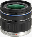 Olympus' M. ZUIKO DIGITAL ED 9-18mm f4.0-5.6 super wide-angle zoom lens. Photo provided by Olympus Corp.