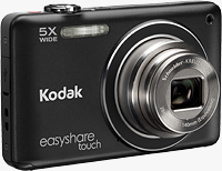 Kodak's EasyShare Touch M5370 digital camera. Image provided by Eastman Kodak Co.