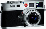 Leica's M8 digital camera. Courtesy of Leica, with modifications by Michael R. Tomkins.
