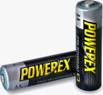 Maha's Powerex 2700 battery. Courtesy of Maha Energy Corp., with modifications by Michael R. Tomkins.