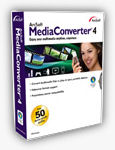 ArcSoft's Media Converter 4, product packaging. Photo provided by Arcsoft Inc.