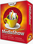 MediaShow Espresso product packaging. Rendering provided by CyberLink Corp.
