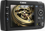 Canon's Media Storage M80 device. Courtesy of Canon, with modifications by Michael R. Tomkins.