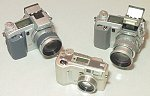 Minolta's new digital cameras.  Copyright (c) 2001, Michael R. Tomkins, all rights reserved.