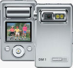 Minox's DM 1 digital camera. Courtesy of Minox, with modifications by Michael R. Tomkins.