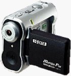 I-O Data's MotionPix AVMC211 AVI camcorder. Courtesy of I-O Data Device Inc. with modifications by Michael R. Tomkins.