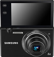 Samsung's MV800 digital camera. Photo provided by Samsung Electronics Co. Ltd.