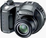 Sony's Mavica MVC-CD500 digital camera. Courtesy of Sony Corp., with modifications by Michael R. Tomkins.