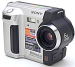 Sony's MVC-FD87 digital camera. Copyright (c) 2001, The Imaging Resource. All rights reserved.
