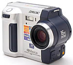Sony's Mavica MVC-FD92 digital camera. Copyright (c) 2001, The Imaging Resource. All rights reserved.