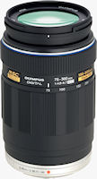 Olympus' M.ZUIKO DIGITAL ED 75-300mm f4.8-6.7 lens. Photo provided by Olympus Imaging America Inc.